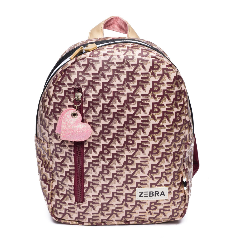Zebra Trends Kinder Rugzak S Zebra Printing Pink