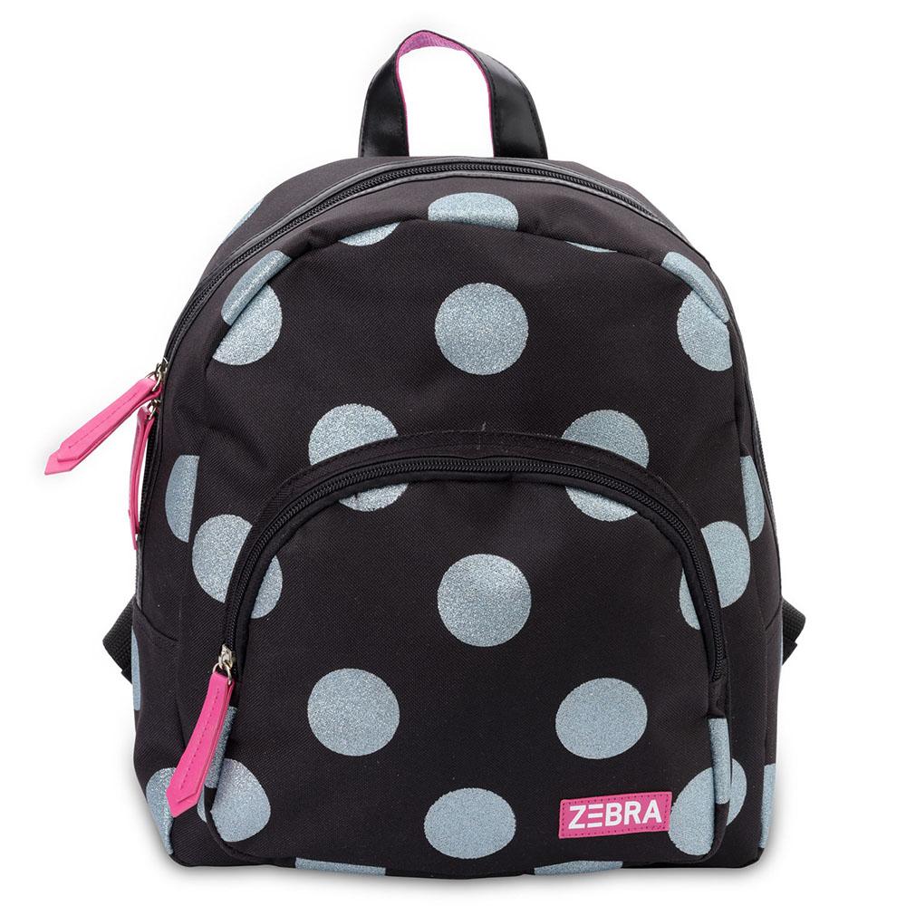06f9250cf63 Zebra Trends Girls Rugzak Glitter Dots Ice Blue