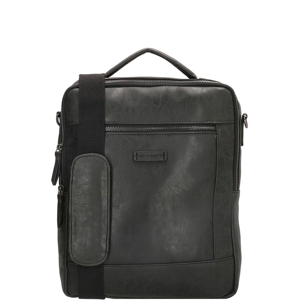 Enrico Benetti Nikki Backpack WIth Shoulder Strap 14 Zwart