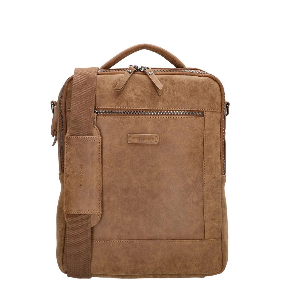 Enrico Benetti Nikki Backpack With Shoulder Strap 14 Camel