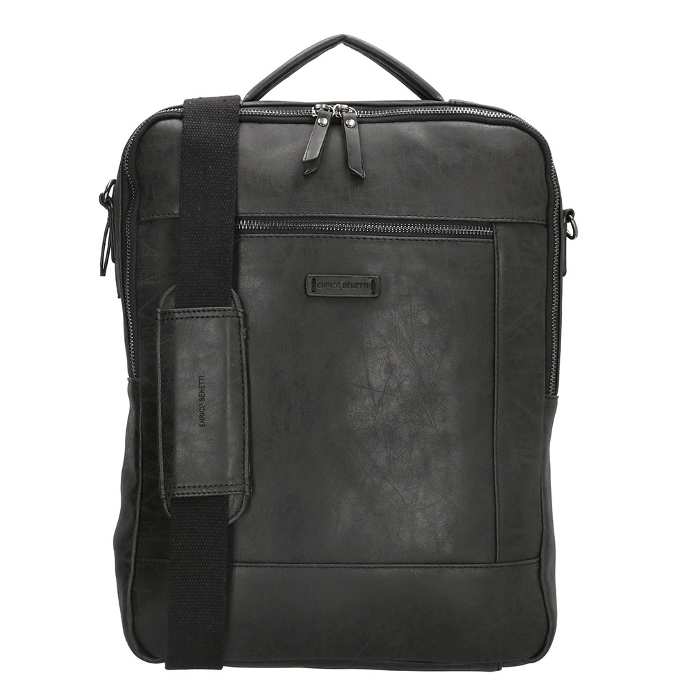 Enrico Benetti Nikki Backpack WIth Shoulder Strap 15 Zwart