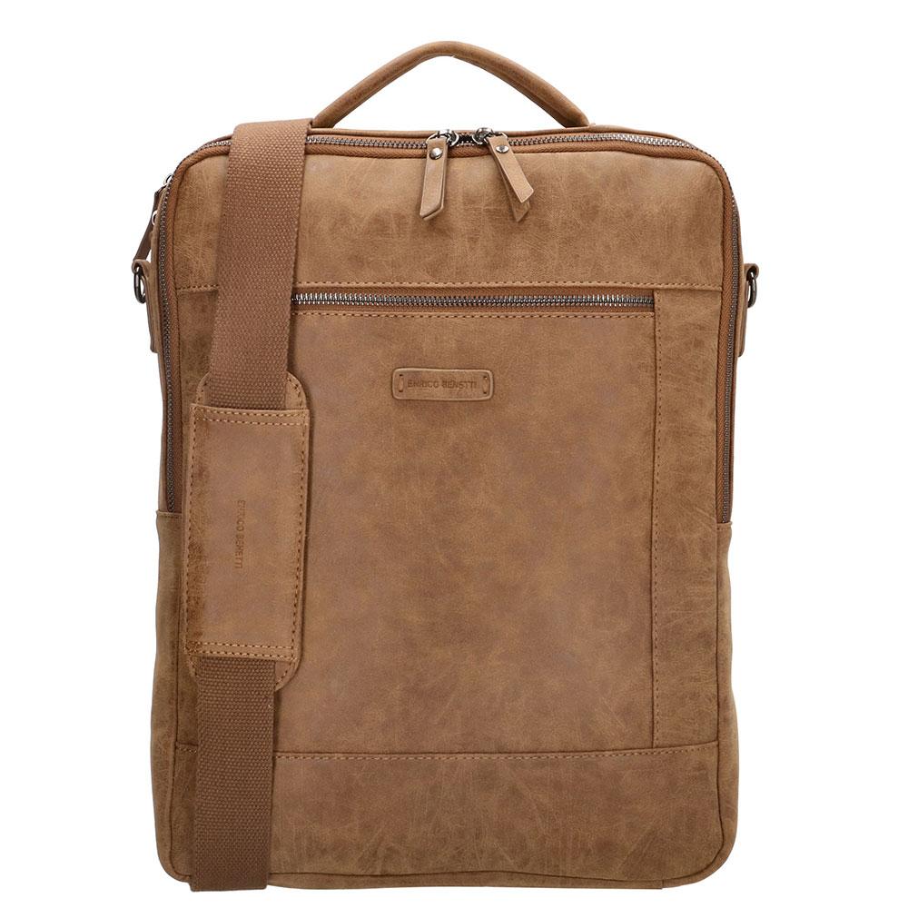 Enrico Benetti Nikki Backpack With Shoulder Strap 15 Camel