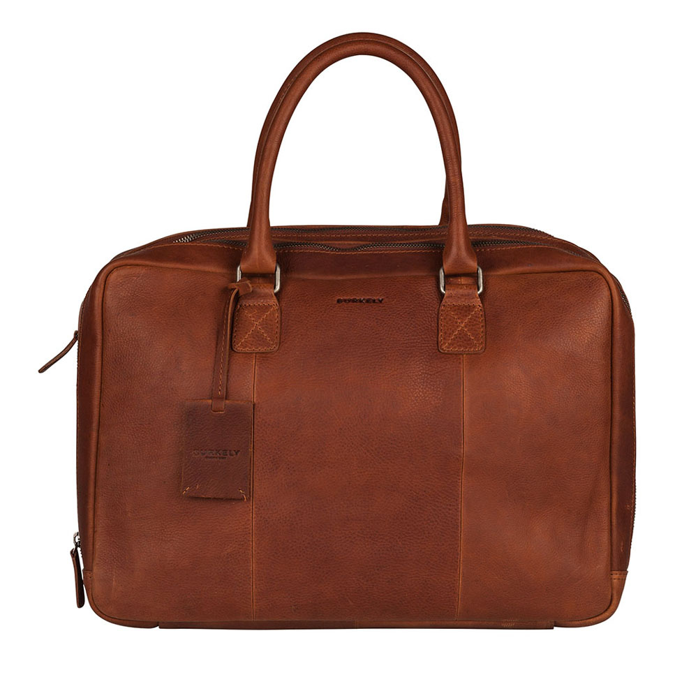 Burkely Antique Avery Worker 15.6 Cognac