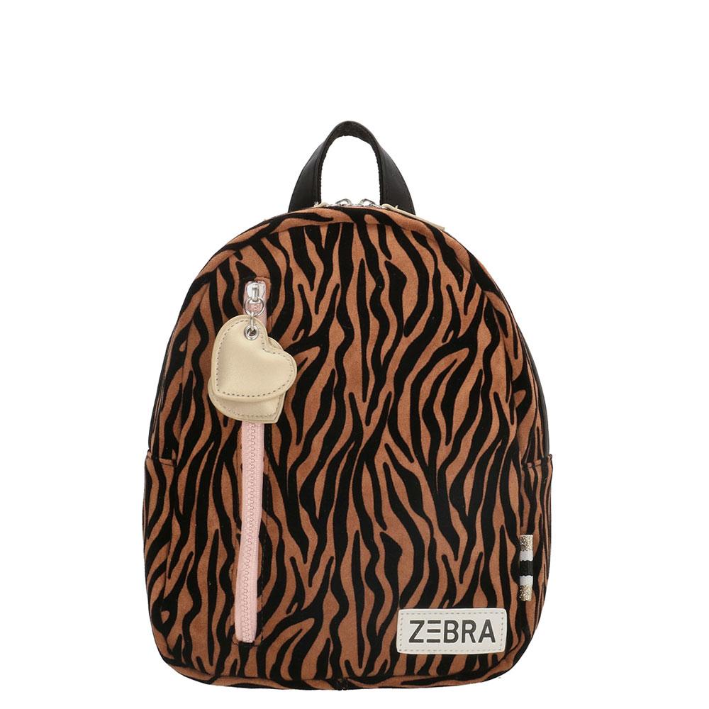 Zebra Trends Kinder Rugzak S Zebra Brown