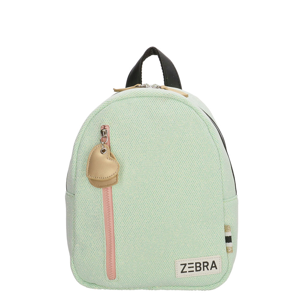 Zebra Trends Kinder Rugzak S Sparkle Mint