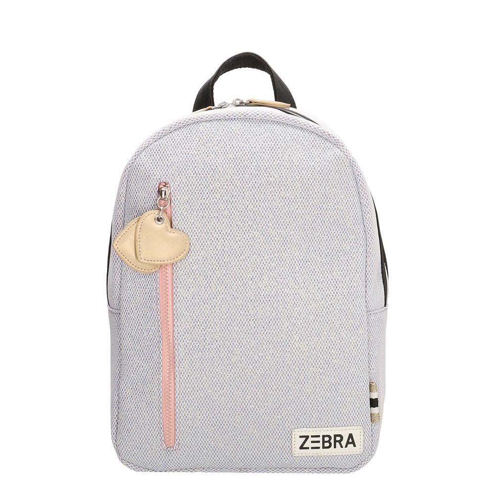 Zebra Trends Kinder Rugzak M Sparkle Purple