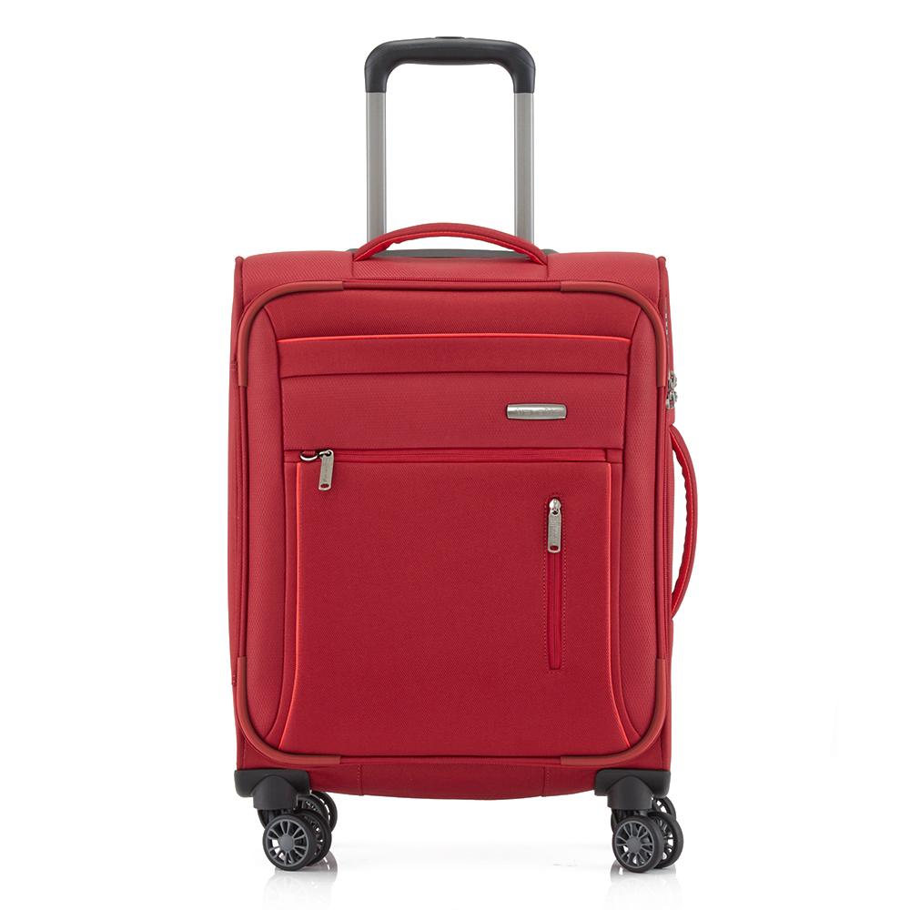 Travelite Capri 4 Wheel Trolley S Red
