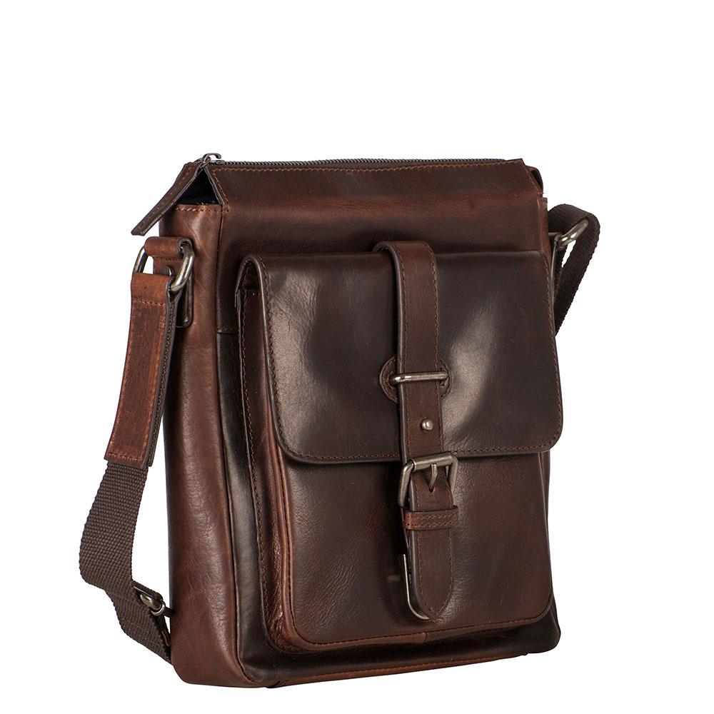 Leonhard Heyden Roma Shoulder Bag XS Brown