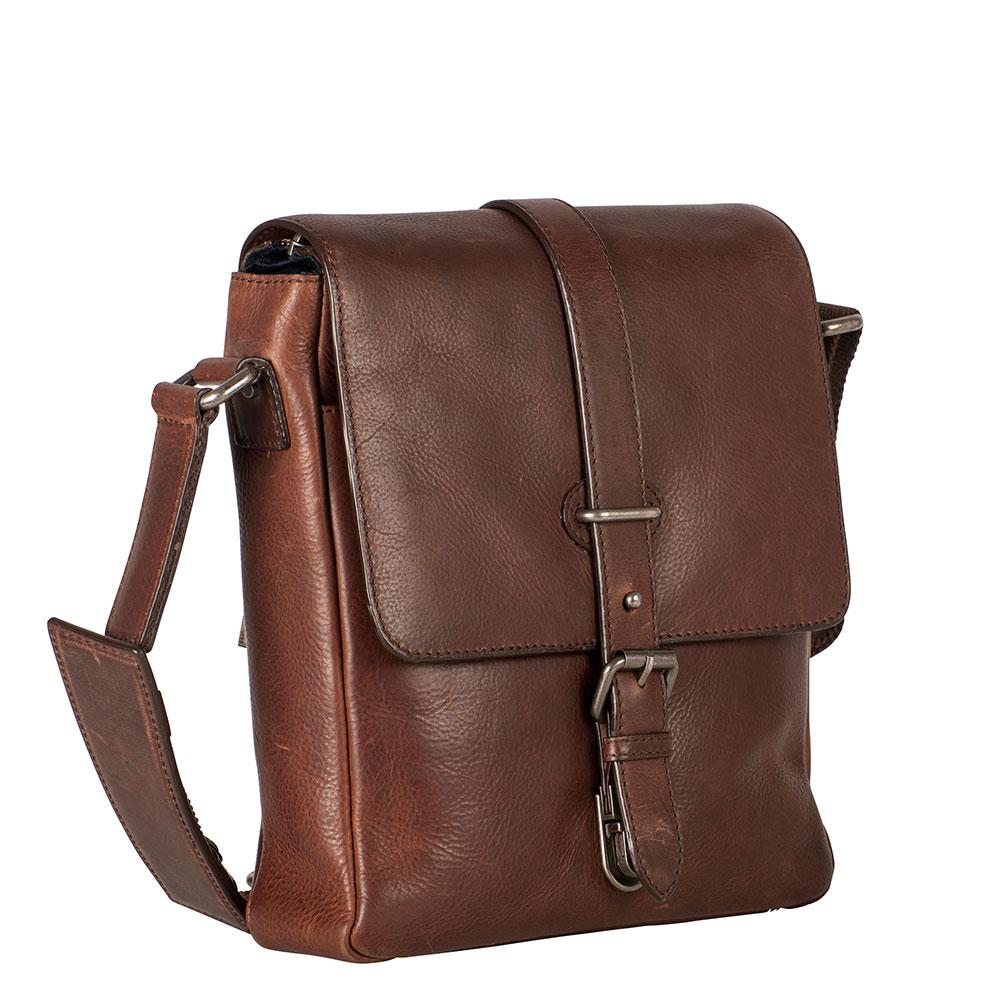 Leonhard Heyden Roma Shoulder Bag S Brown