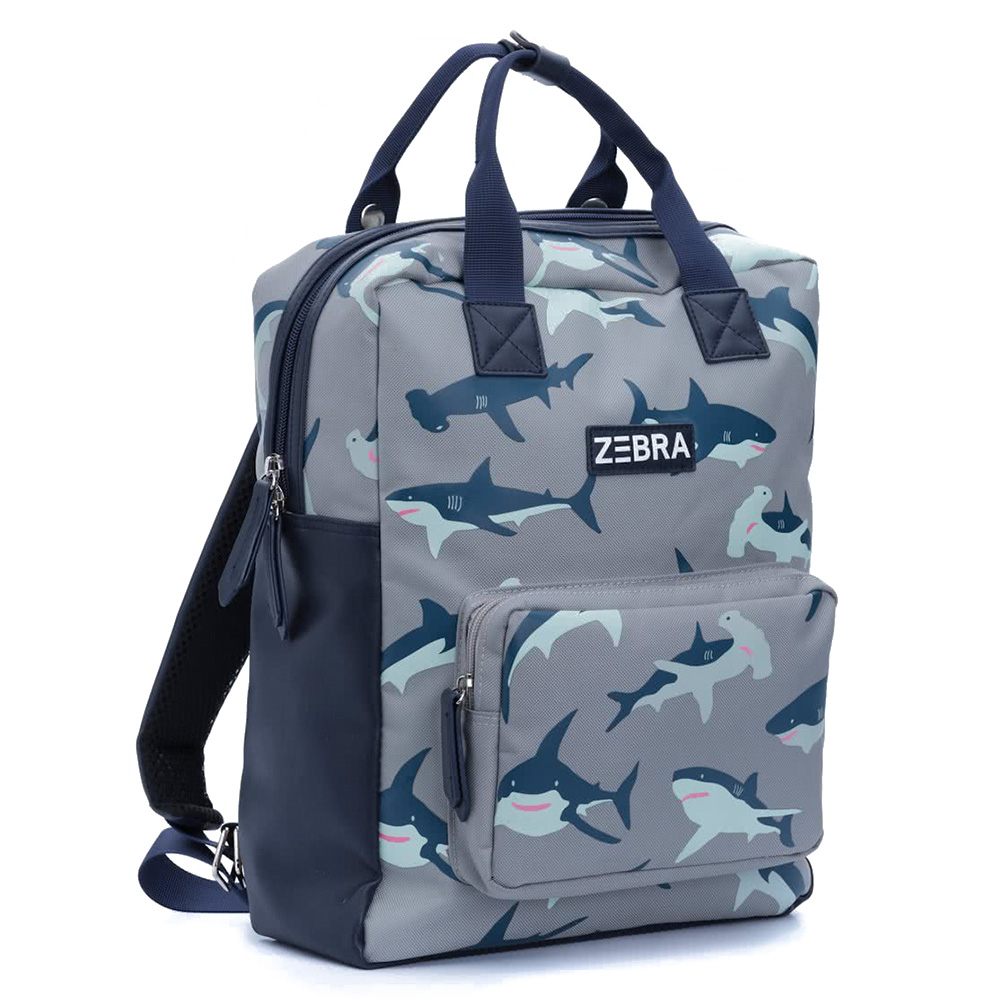 c01f9a5d58d Zebra Trends Boys Rugzak L Shark
