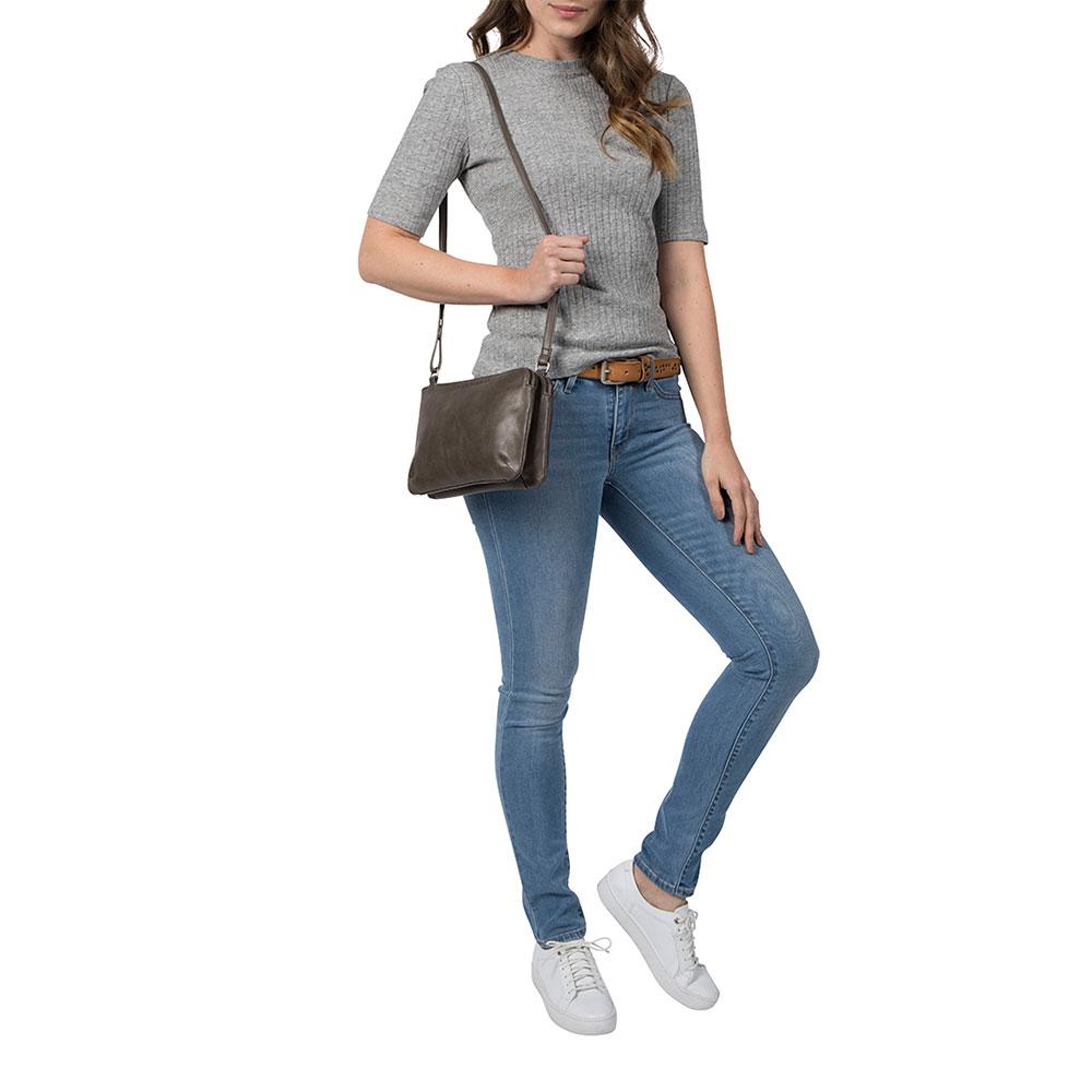 Cowboysbag Bag Adabelle Schoudertas Storm Grey