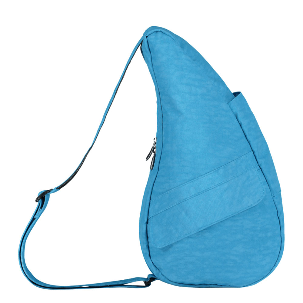 The Healthy Back Bag The Classic Collection Textured Nylon S Azure