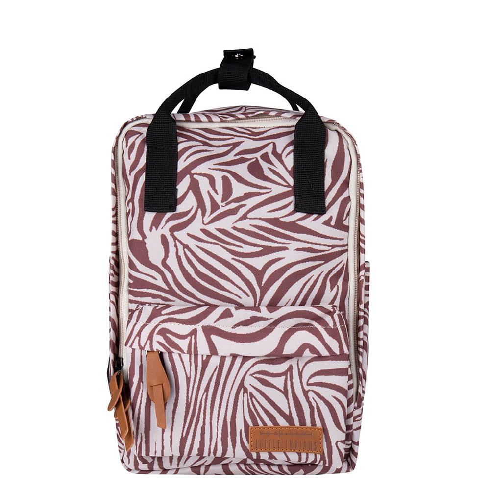 Little Indians Kids Dots Backpack Zebra