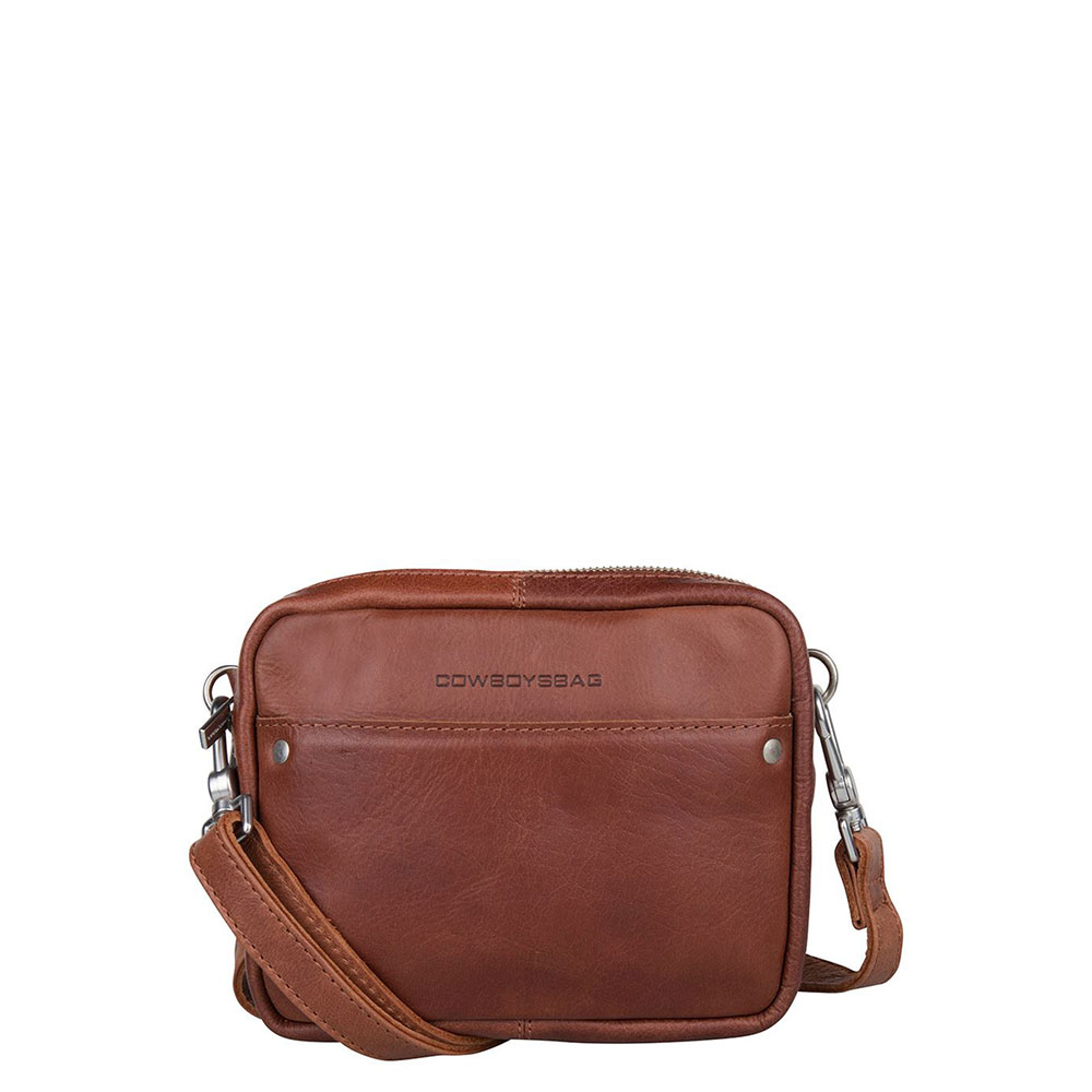 Cowboysbag Bag Bobbie Schoudertas Cognac