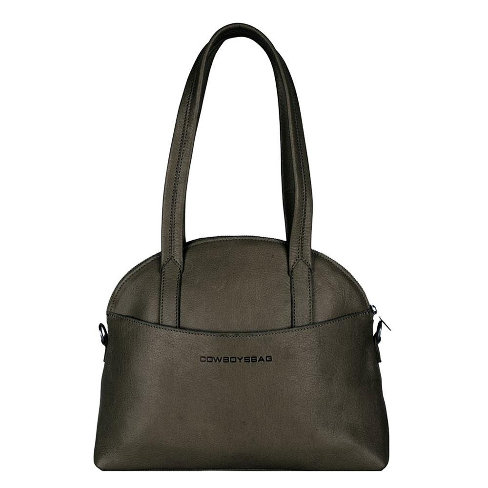 Cowboysbag Clean Bag Kelly Schoudertas Dark Green
