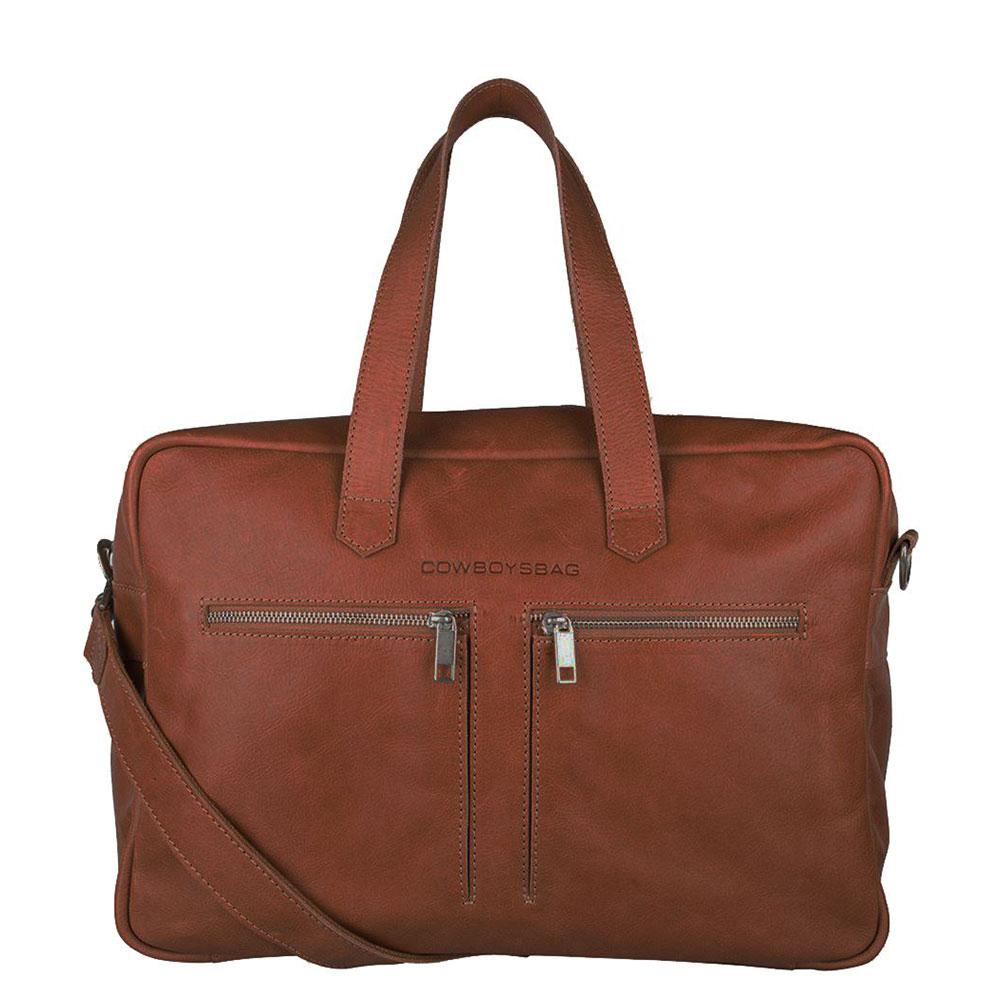 Cowboysbag Bag Kyle Schoudertas Cognac