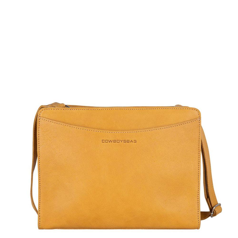 Cowboysbag Clean Bag Rye Schoudertas Amber