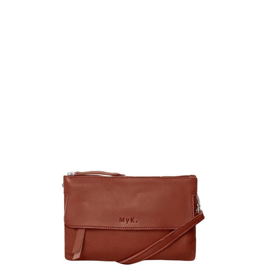 MyK Wannahave Bag Chestnut