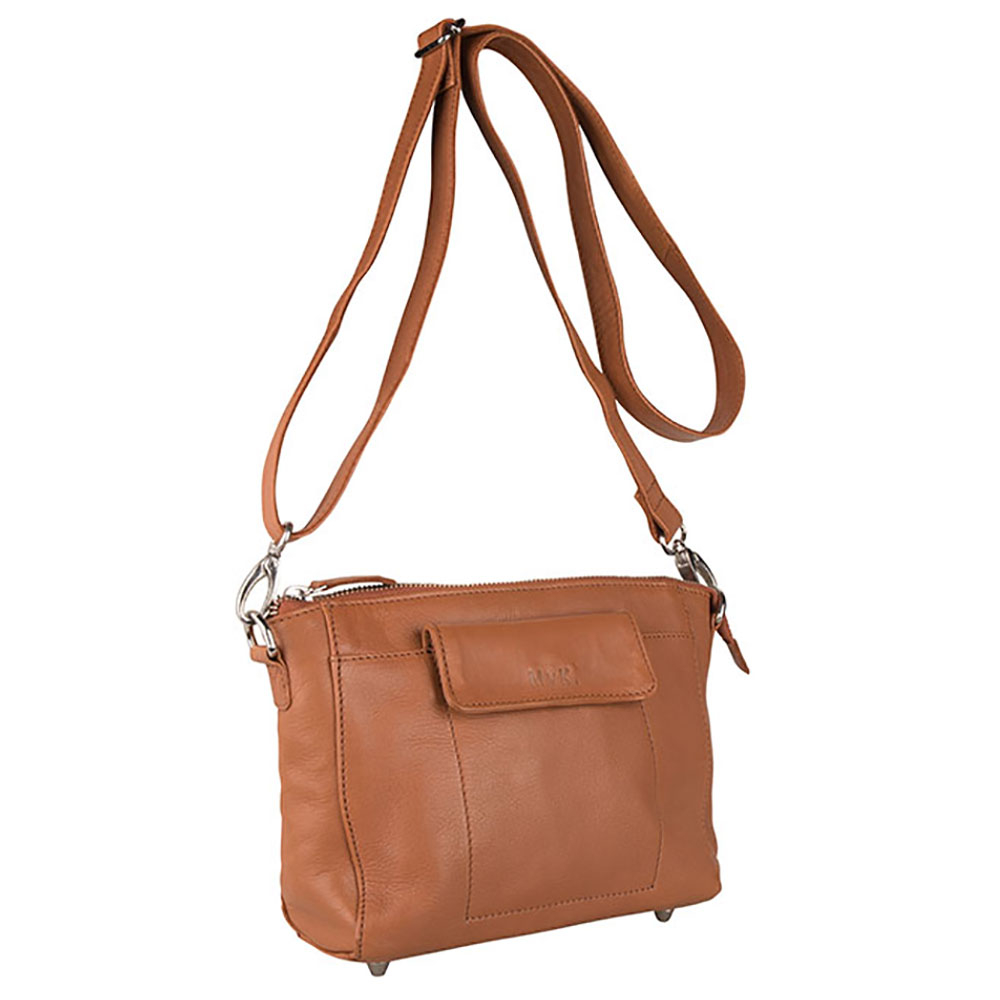 MyK Bag Avalon Schoudertas Caramel