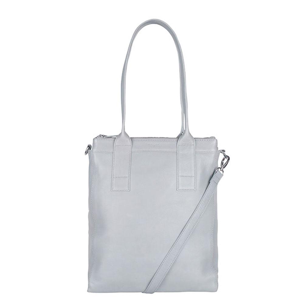 MyK Bag Lotus Schoudertas Silver Grey