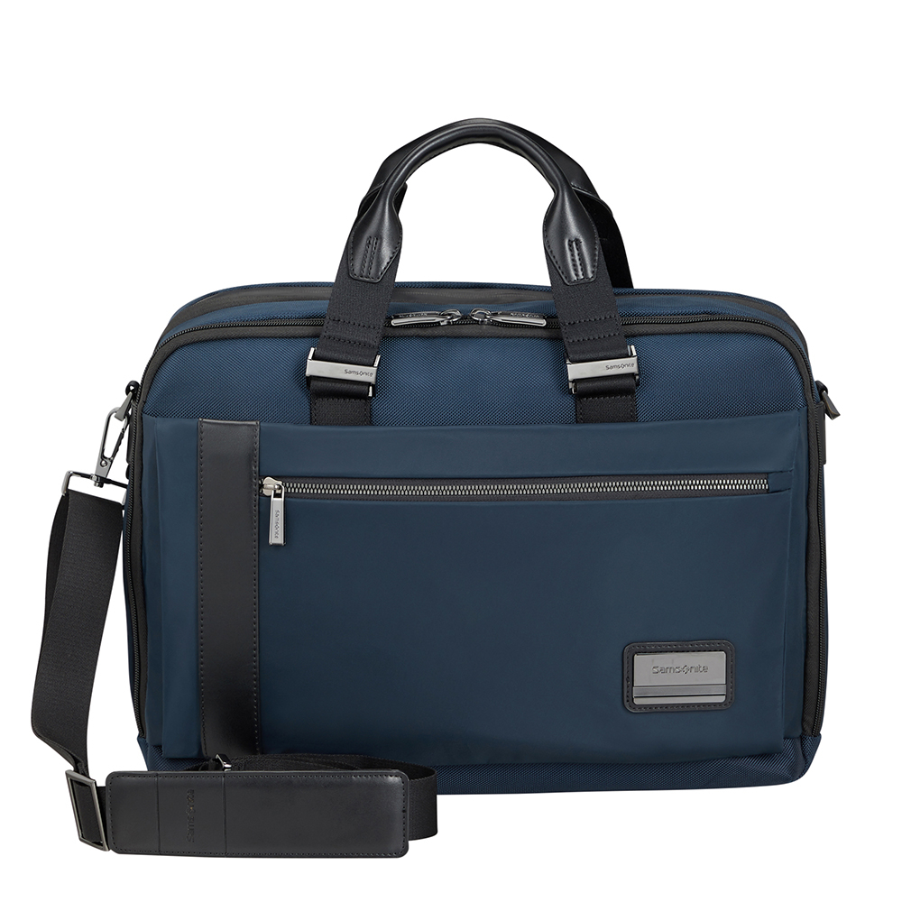 Samsonite Openroad 2.0 Bailhandle 15.6 Expandable Cool Blue