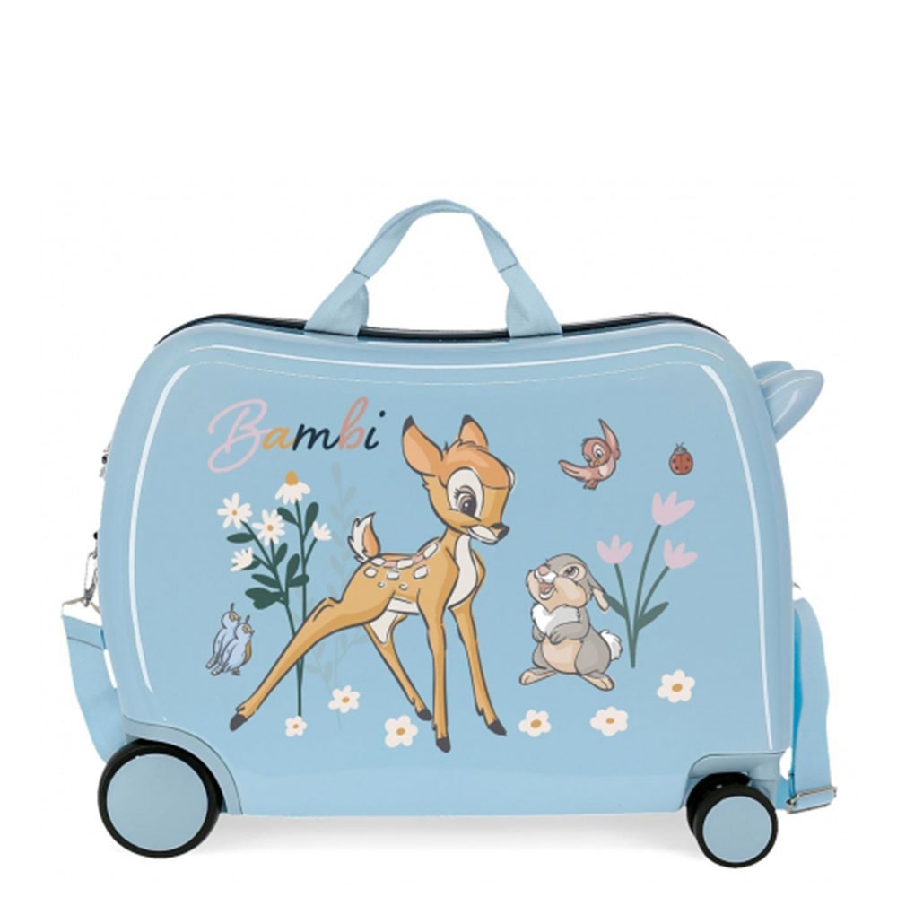 Disney Rolling Suitcase 4 Wheels Before The Bloom Bambi