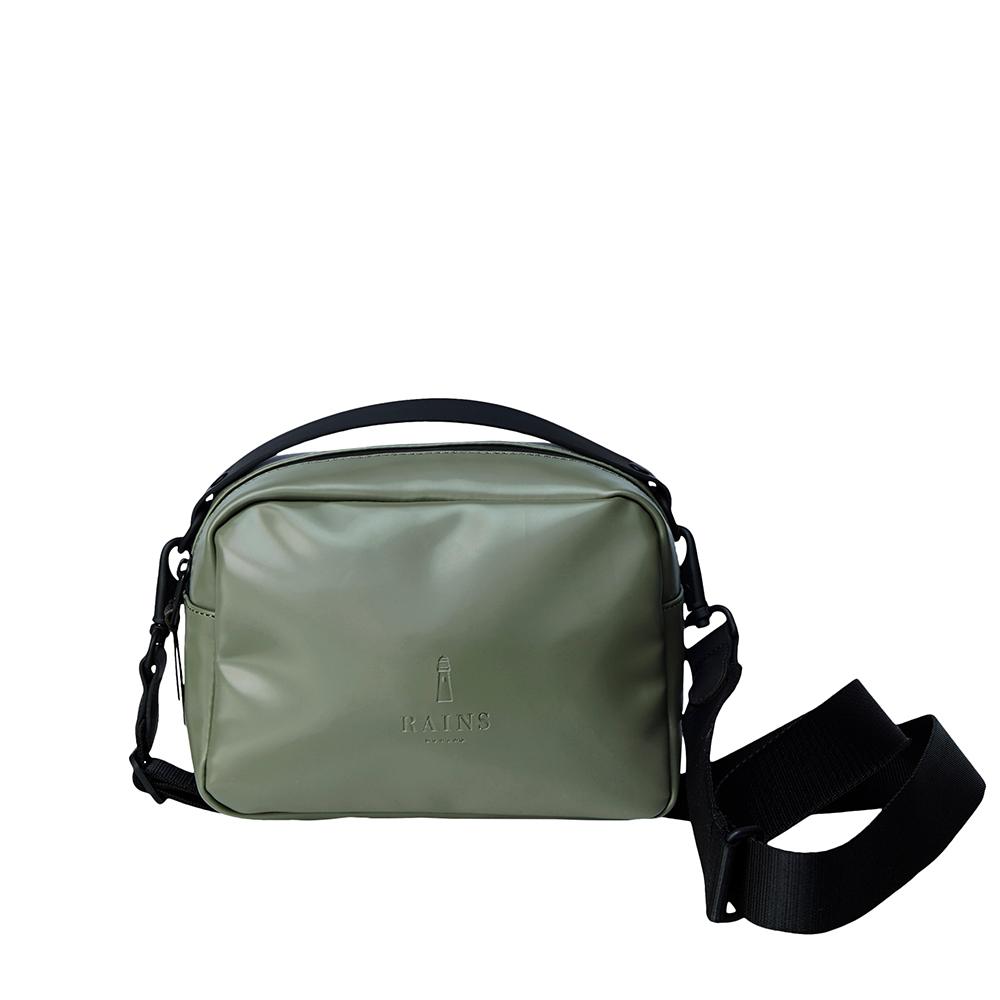 Rains Original Box Bag Shiny Olive