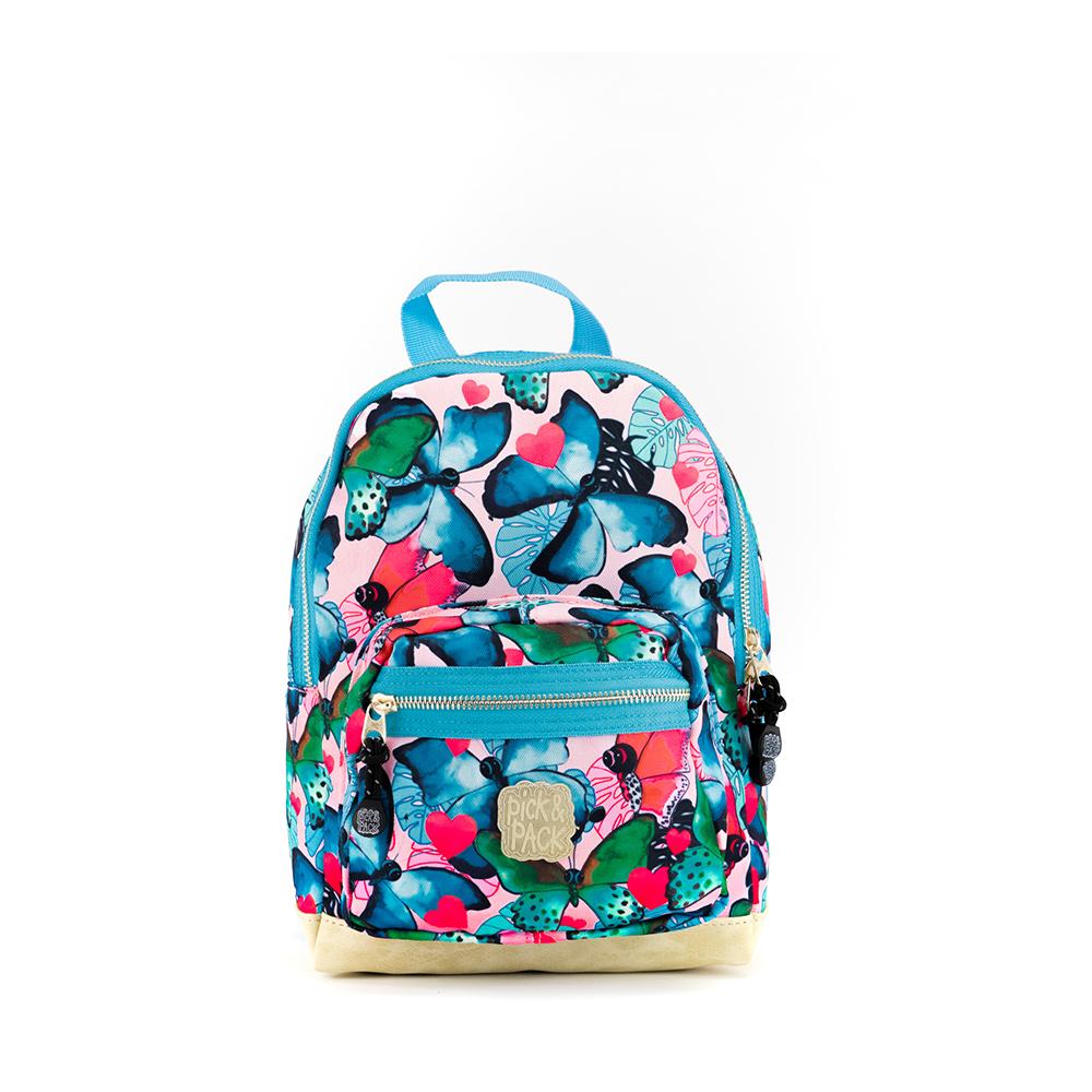 Pick & Pack Fun Rugzak Beautiful Butterfly S Multi Pastel