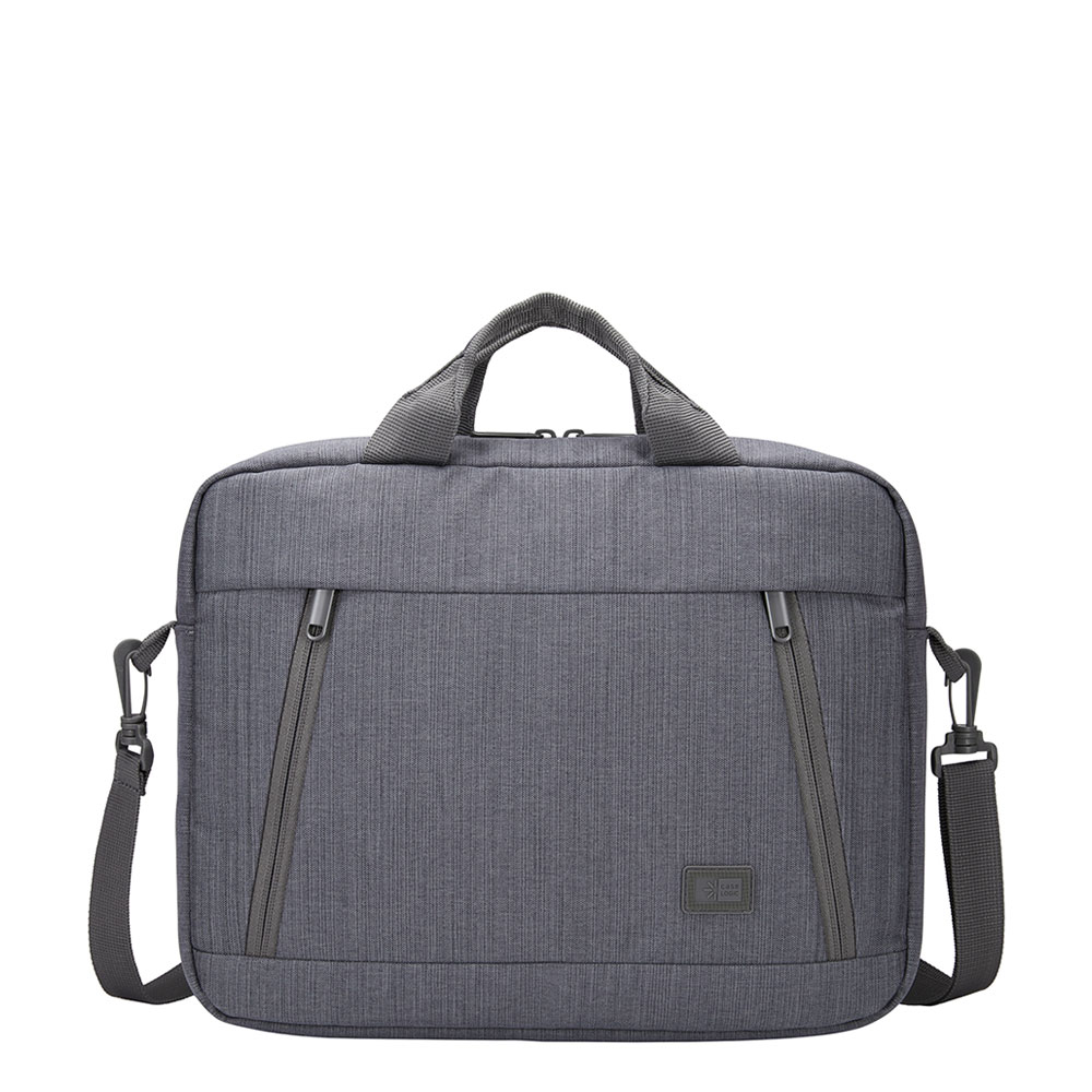 Case Logic Huxton Laptop Attache 13.3 Graphite - Laptoptassen