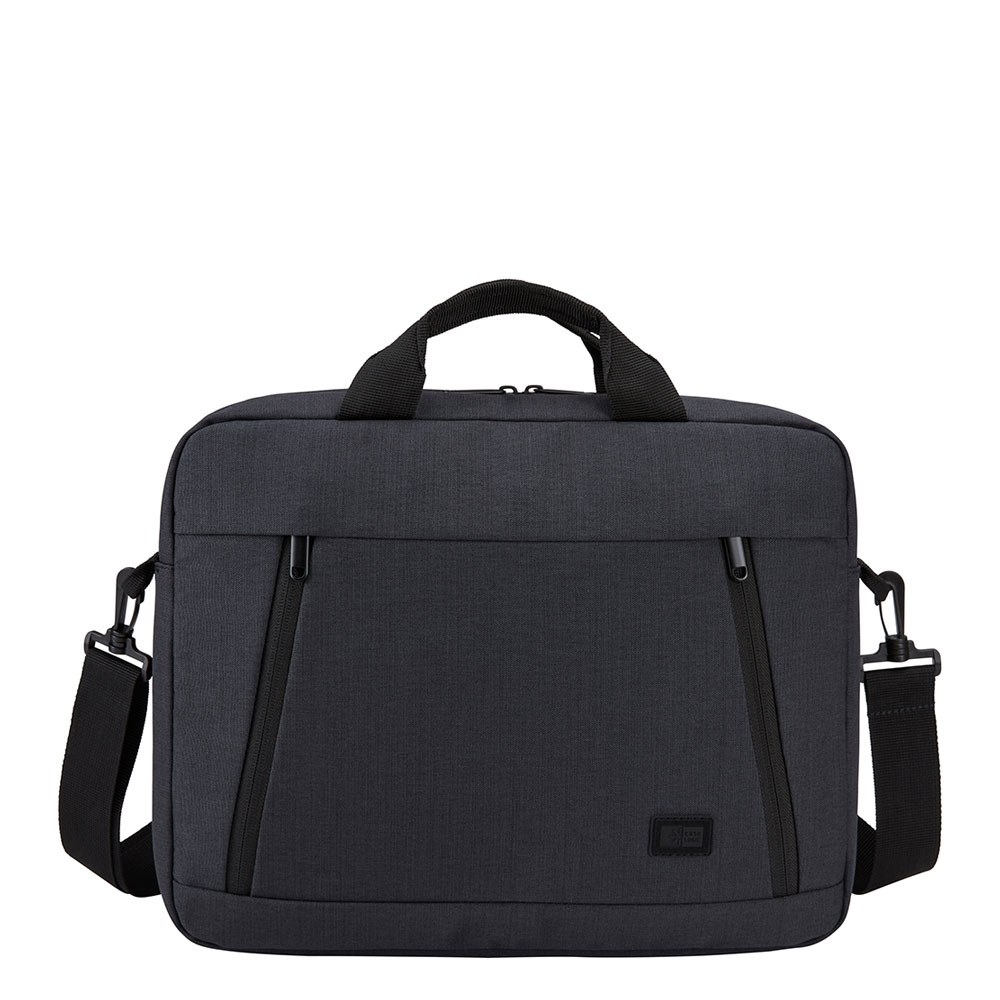 Case Logic Huxton Laptop Attache 14 Black - Laptoptassen