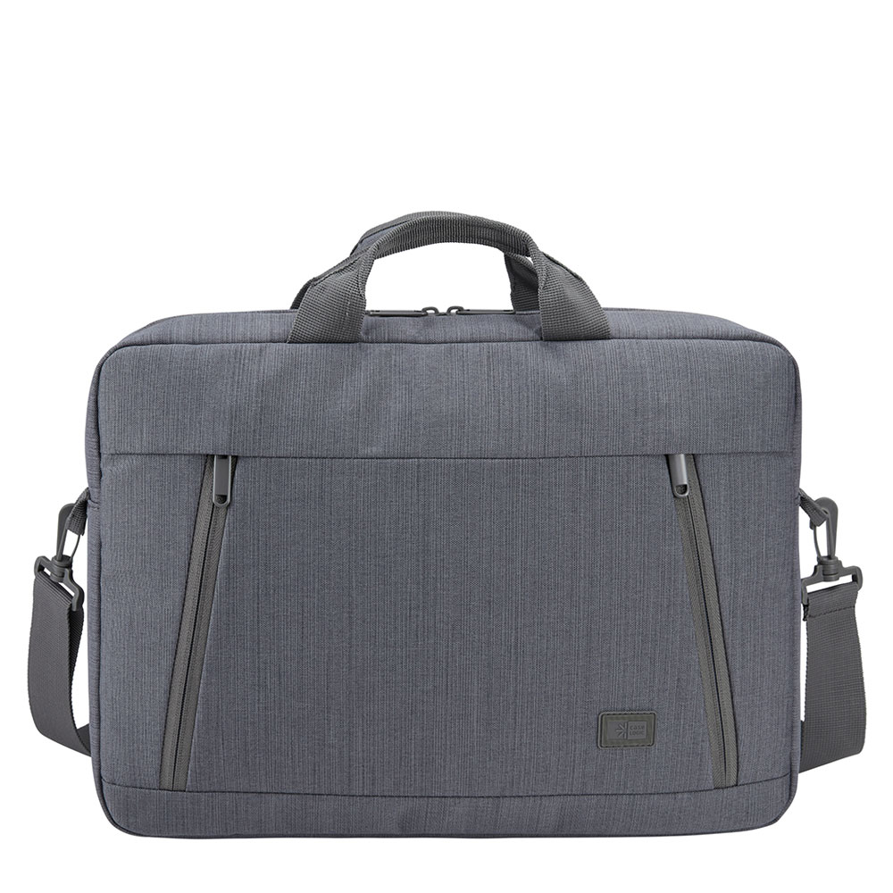 Case Logic Huxton Laptop Attache 15.6 Graphite - Laptoptassen