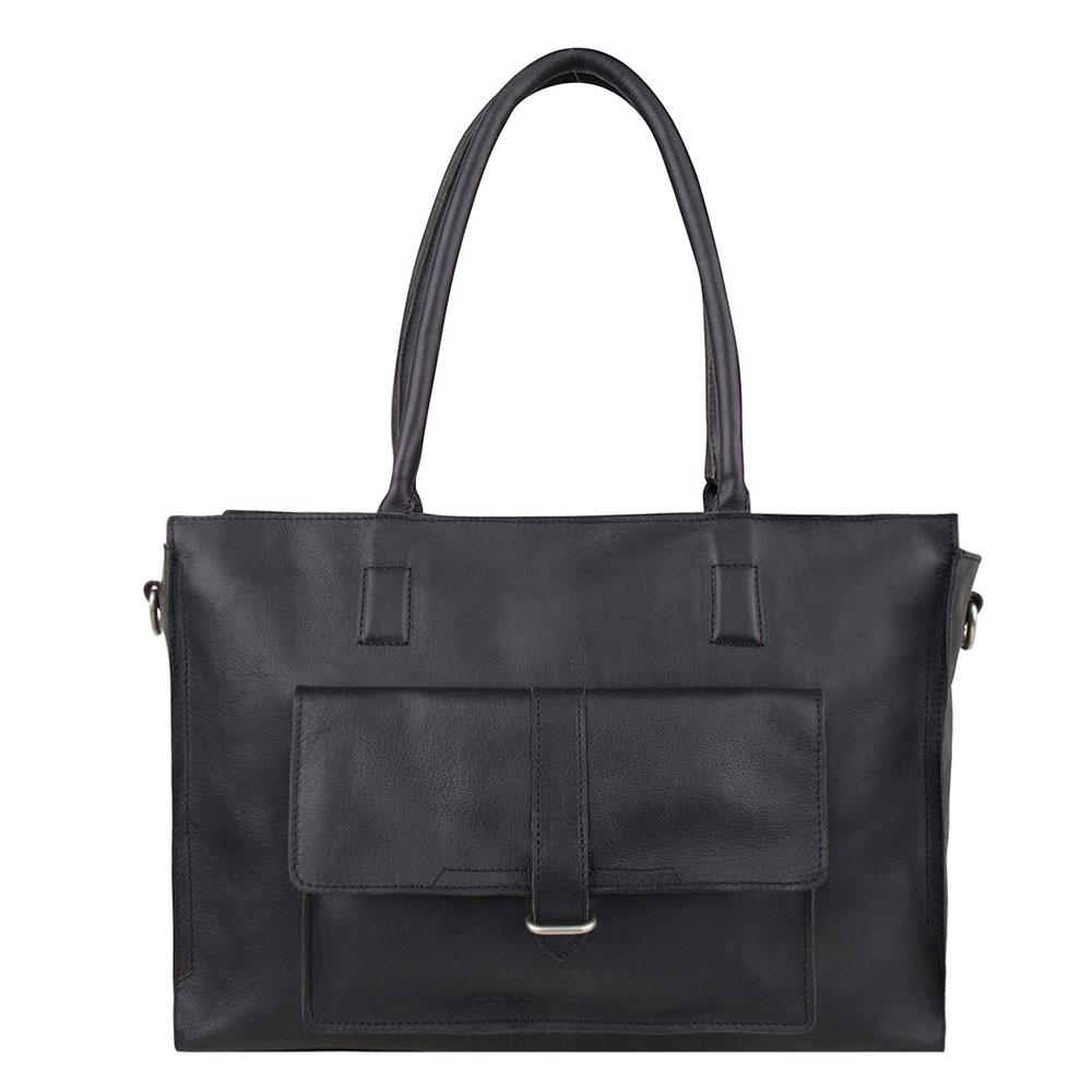 Cowboysbag Laptop Bag Edgemore 15.6 Schoudertas Black