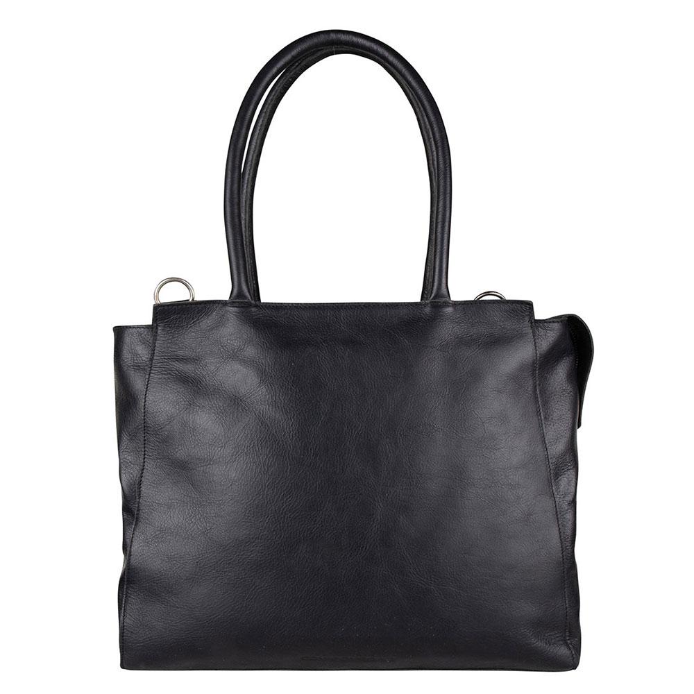 Cowboysbag Laptop Bag Evi 15.6 Schoudertas Black