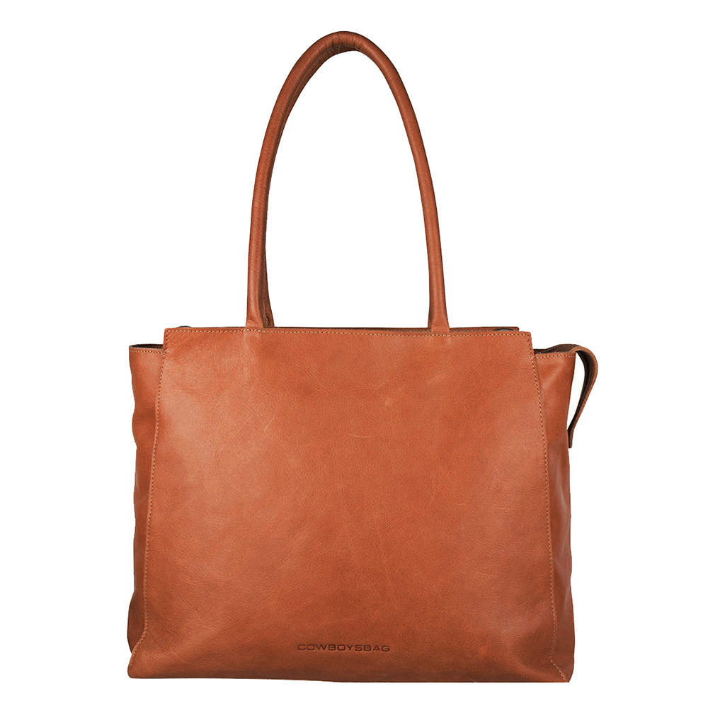 Cowboysbag Laptop Bag Evi 15.6 Schoudertas Cognac
