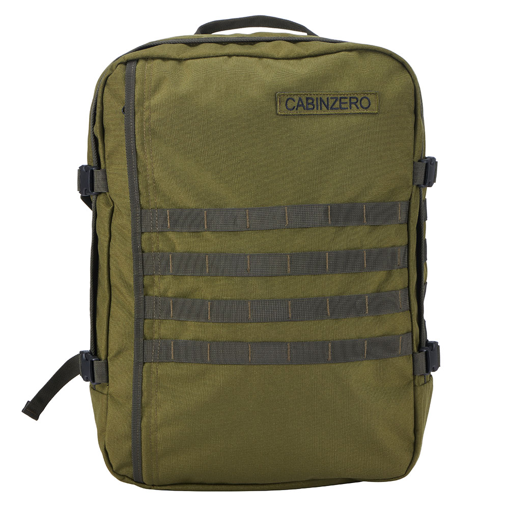 cabinzero military 44l light weight cabin bag military green. Black Bedroom Furniture Sets. Home Design Ideas