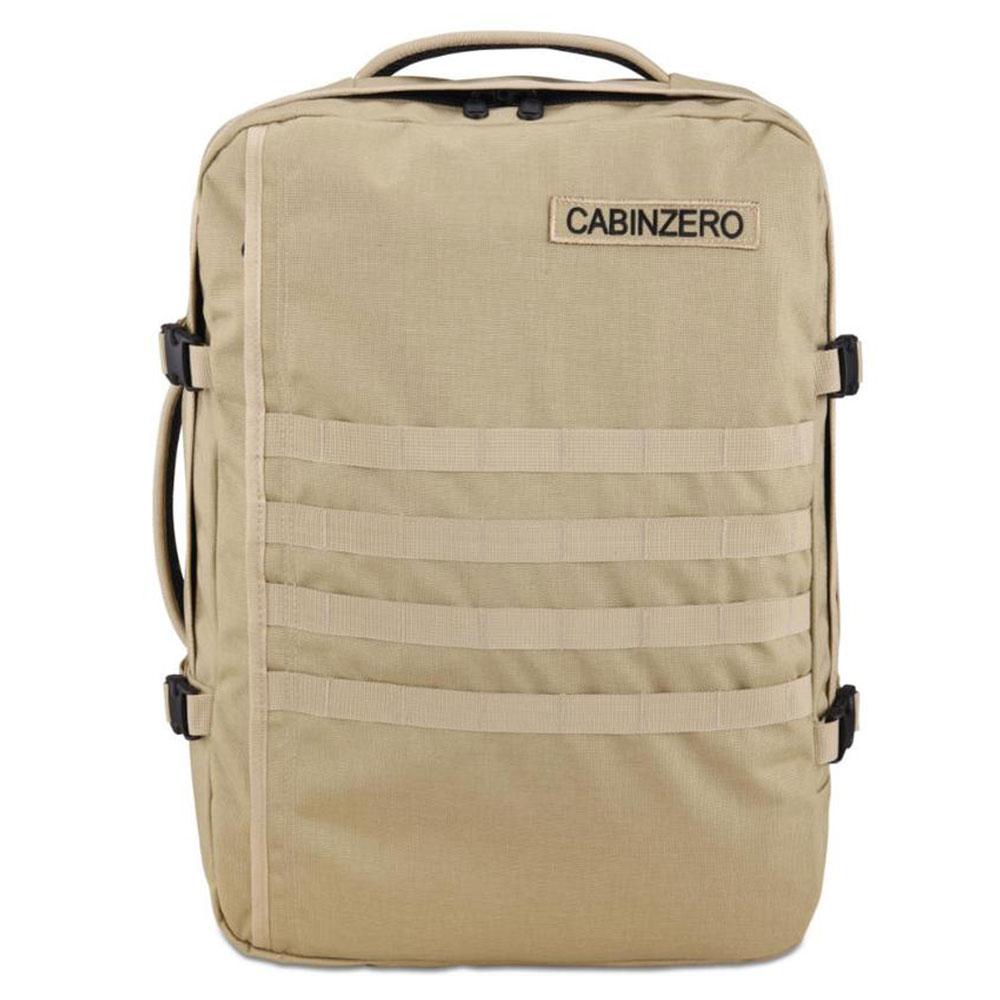 cabinzero military 44l lightweight cabin bag light khaki. Black Bedroom Furniture Sets. Home Design Ideas
