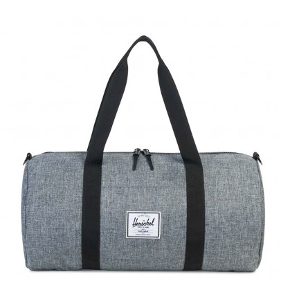 Herschel Sutton Mid-Volume Reistas Raven Crosshatch/Black