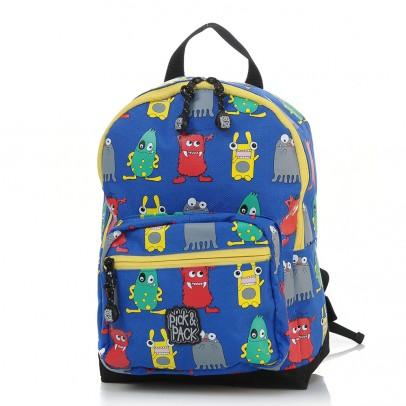 Pick Pack Fun Kinder Rugzak Blue Monster