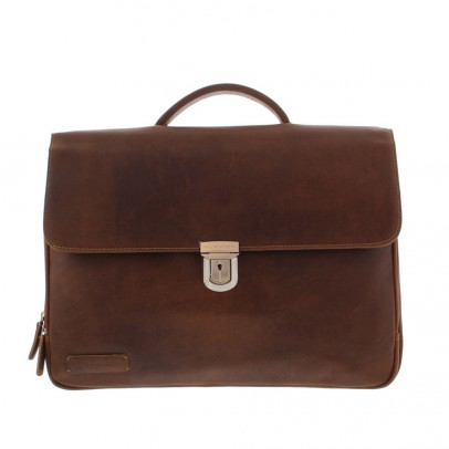 Plevier Laptoptas 3-vaks 30-33 Brown
