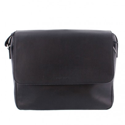 Plevier Laptop Messenger 2-vaks 35-1 Black