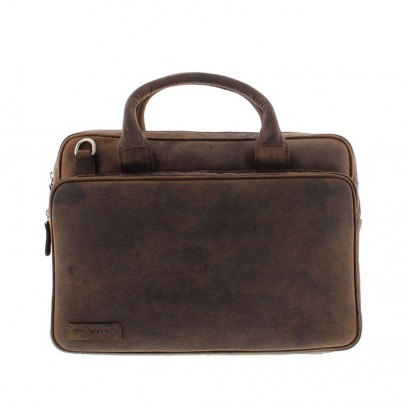Plevier 557-2 Laptoptas Brown