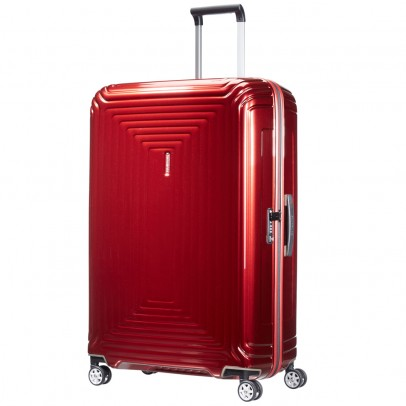 Samsonite S'Cure Deluxe Trolley 55 Metallic Green