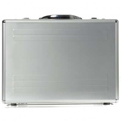 Alumaxx Kronos Laptop Attachekoffer 45131 Silver