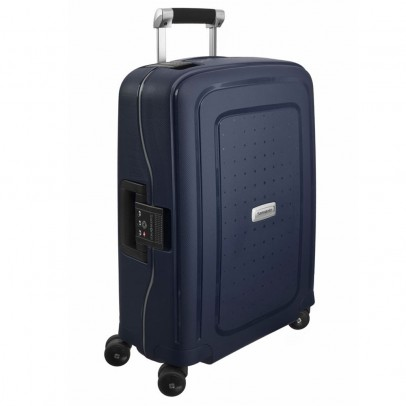 Samsonite S'Cure Deluxe Trolley 55 Midnight Blue