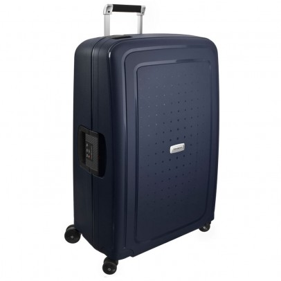 Samsonite S'Cure Deluxe Trolley 75 Midnight Blue