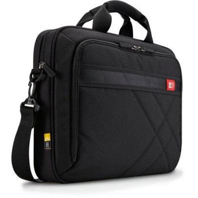 "Case Logic DLC117 17"" Laptop Briefcase Black"