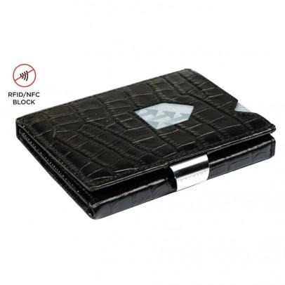 Exentri Wallet met RFID Bescherming Caiman Black