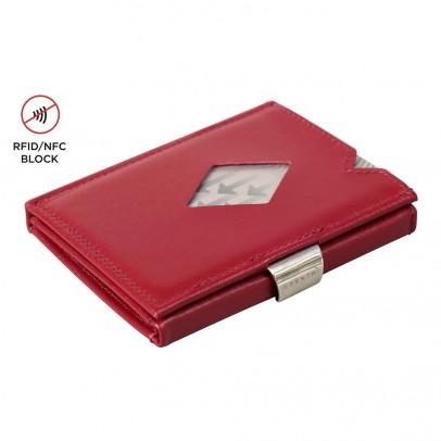 Exentri Wallet met RFID Bescherming Red