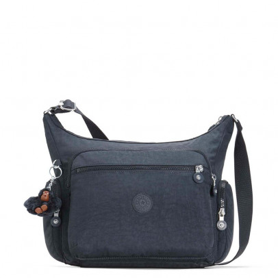 Kipling Defea Schoudertas Black