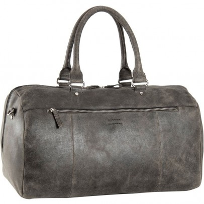 Leonhard Heyden Boston Travel Bag 7312 Brown